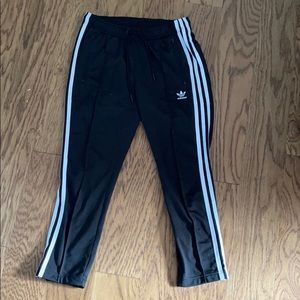 Cropped Adidas Track Pants